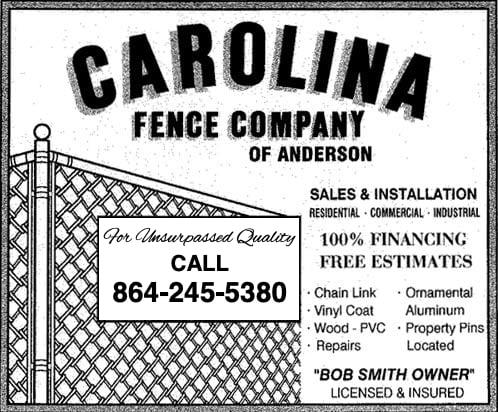 Contact Carolina Fence Co